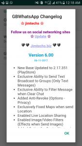 WhatsApp plus JiMODs v6.00 Jimtechs Editions