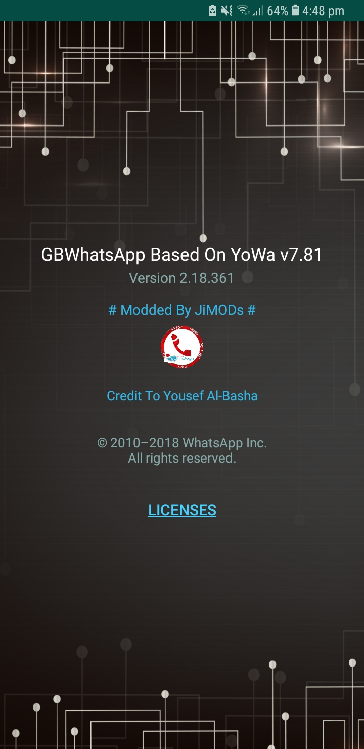 WhatsApp Plus JiMODs v7.81 Jimtechs Editions