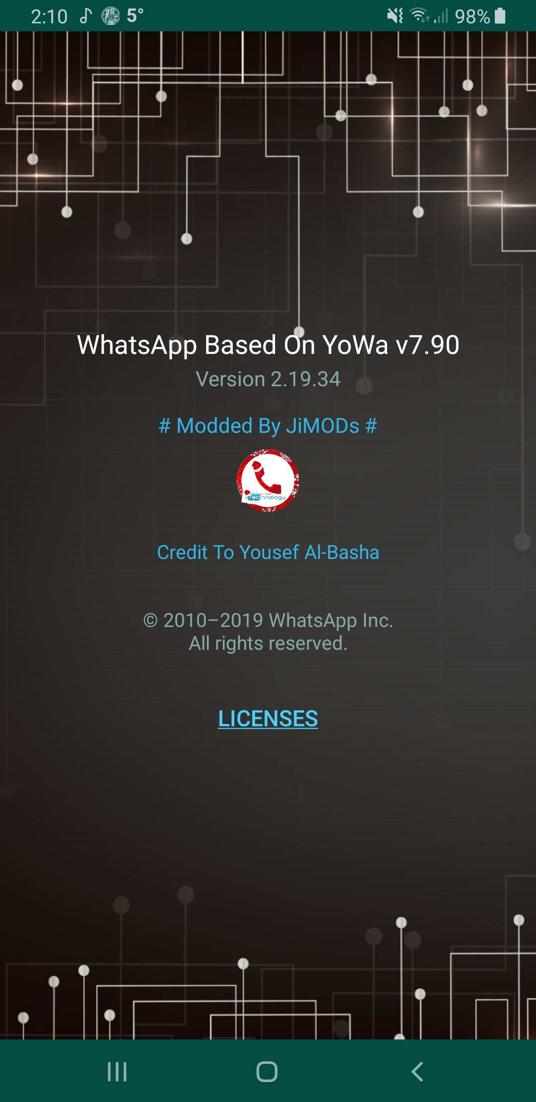 WhatsApp Plus JiMODs v7.90 Jimtechs Editions