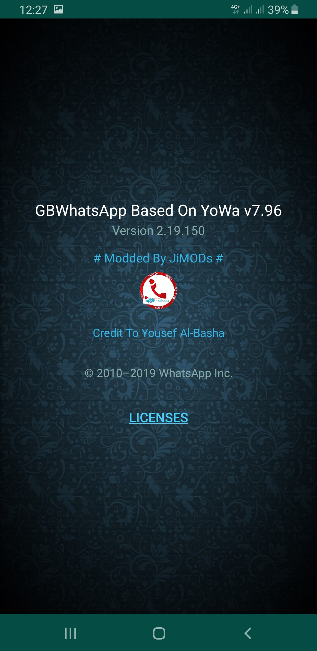 WhatsApp Plus JiMODs v7.96 Jimtechs Editions