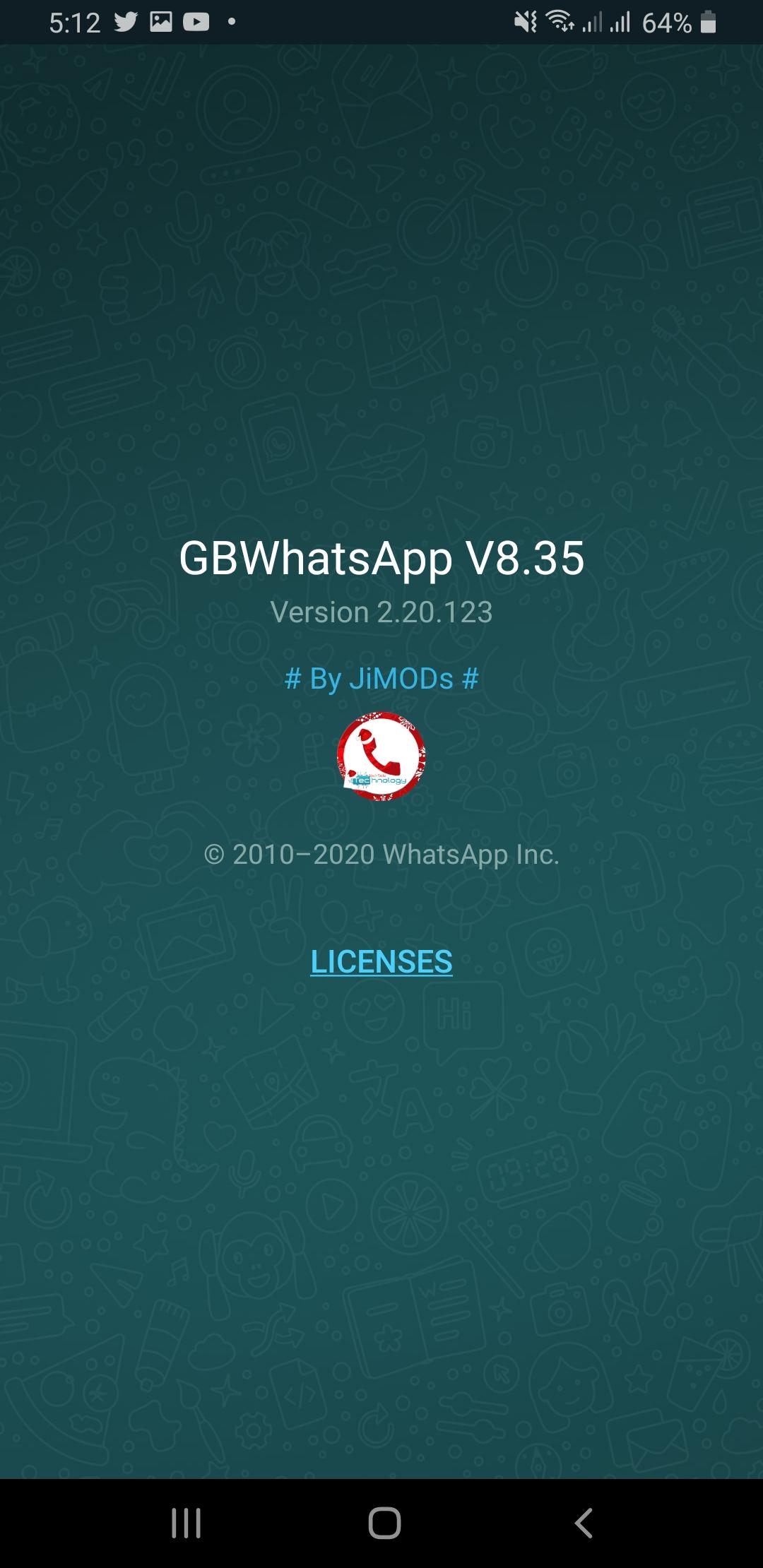 WhatsApp+ JiMODs v8.35 Jimtechs Editions