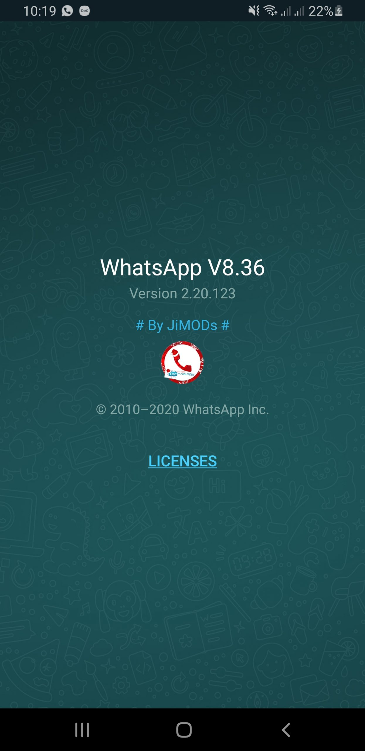 WhatsApp+ JiMODs v8.36 Jimtechs Editions