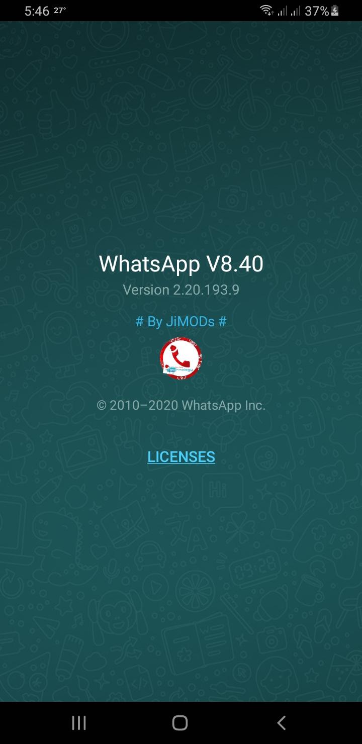 WhatsApp+ JiMODs v8.40 Jimtechs Editions