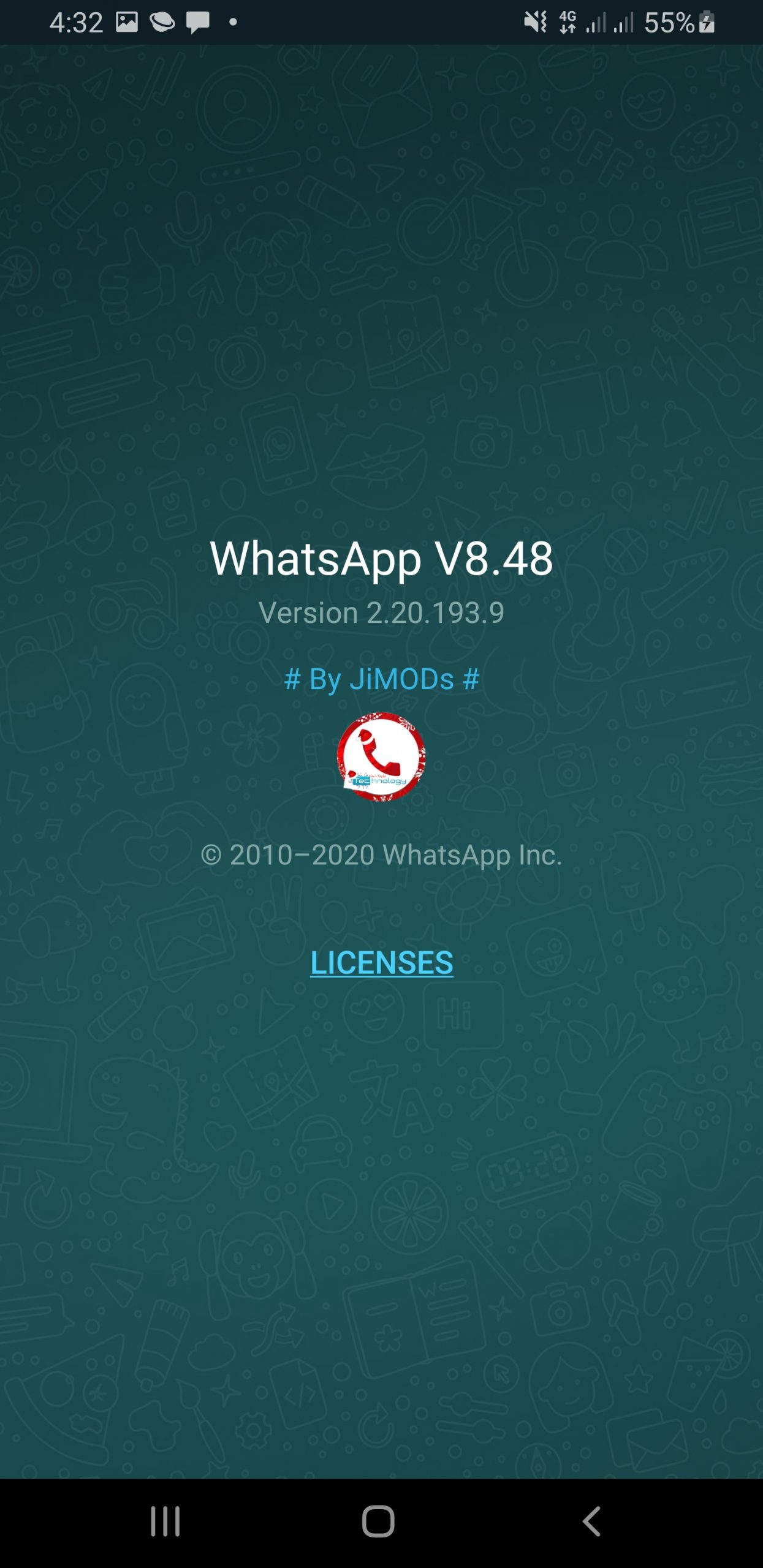 WhatsApp+ JiMODs v8.48 Final Jimtechs Editions (Sorry for all the updates Today)